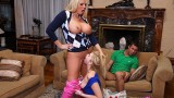 Molly Bennett and Karen Fisher on Moms Bang Teens