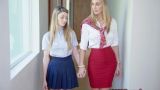 Moms Bang Teens – Staci Silverstone bangs with her Mom
